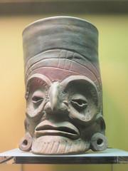 Old Man Cup (edenpictures) Tags: sculpture statue newyorkcity nyc manhattan mesoamerican precolumbian art nativeamerican americanmuseumofnaturalhistory amnh naturalhistorymuseum museum upperwestside