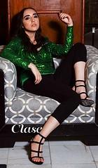 Glamorosa y con estilo