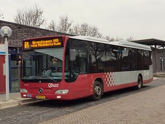 NLD Qbuzz 3188 ● Uithuizen Station (Roderik-D) Tags: 3188 qbuzz31003301 mercedesbenz o530ü citaro2 savas bege automatictransmission uithuizenstation evobus cu8 motorola cm140 ivu bxfz17 singledeckerbus überlandbus dieselbus wensink capacity40481 euro5 lijnbus 2axle 2doors streekbus busoftheyear2007 streeklijn61