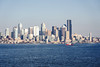 Seattle-Bainbridge Ferry-10 (_futurelandscapes_) Tags: none seattle bainbridgeisland ferry washington transit boat water cityscape skyline autumn sunny bluesky clear bright calm travel vacation city spaceneedle highrise industrial waterfront pier pikeplace