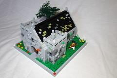 Kirkspud (spud_the_viking) Tags: lego kirk stone building moc custom church redcoats redcoat corrington