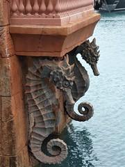 Nassau, Bahamas, Day 3 -- Caribbean Cruise Vacation, Paradise Island, Atlantis Resort, Seahorse Sculptures (Mary Warren 12.9+ Million Views) Tags: nassaubahamas cruise hollandamerica veendam paradiseisland atlantis resort hotel art sculpture seahorse