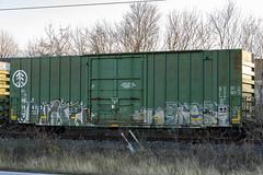 (o texano) Tags: houston texas graffiti trains freights bench benching wyse nekst dts defthreats adikts a2m d30 mayhem