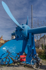 2019 Bike 180: Day 37, March 17 (suzanne~) Tags: 2019bike180 bike bicycle ship propeller schiffsschraube munich bavaria germany exhibit exhibition deutschesmuseum