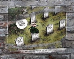 Hillary Memorandum (Sklokapus) Tags: hillaryclintoncorruptions wall brickwall bricks building brick video vote drawing digitalart politics publicdomain poster sticker usa