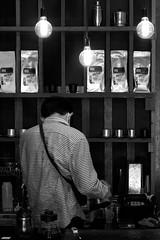 Process. (Work_man) Tags: story portrait coffee street blackandwhite