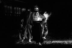 般若 (tomorca) Tags: matsuri japanese traditional japan hannya people shrine monochrome blur night blackandwhite fujifilm xt2