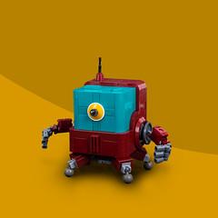 Mech Monday #2: CUB-3 (roΙΙi) Tags: mechmonday mech lego bot moc afol