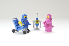 LEGO Benny and Jenny's baby - atana studio (Anthony SÉJOURNÉ) Tags: lego brick afol moc creator atana studio anthony séjourné