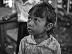 Untitled (Cécile Charron) Tags: cambodge cambodia streetphotography streetphoto street portrait portraits kids kid candid noiretblanc nb blackandwhite bnw bw blackwhite girl