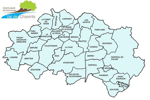 Communauté de Communes Val de Charente 2019