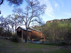 Honeyrun Bridge in 2014 (FISH-BIO) Tags: buttecreek campfire forest fire butte county honeyrun bridge historicbridge