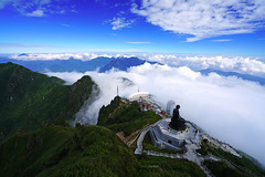 Overwhelming view from the top of Fansipan mountain, Vietnam (Andrey Sulitskiy) Tags: fansipan sapa vietnam