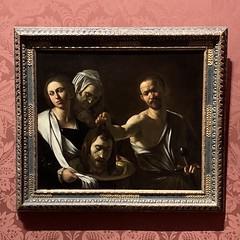 Salome Receives the Head of John the Baptist, circa 1609-10, by Caravaggio (FotoFling Scotland) Tags: caravaggio national gallery nationalgallery london oldmaster fineart salome johnthebaptist head