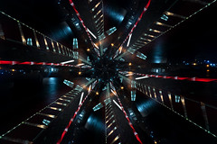 Span (Light.Art.Colour.Experiments) Tags: rotation kinetic light lightpainting bridge poole twin sails dorset
