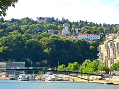 Lyon (Susannaphotographer) Tags: france francia lyon summer rhône river riverside bridge architecture ponte ranska city citylife cityscape