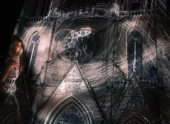 Glow (derpunk) Tags: glow glow2018 eindhoven the netherlands international light art festival lichtkunst church catharina kerk glowing night catharinakerk sintcatharinakerk