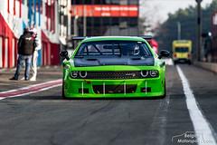 Dodge Challenger silhouette V8 (belgian.motorsport) Tags: dodge challenger silhouette v8 hendriks motorsport euro nascar circuit zolder testday 2018 testdag test testing