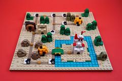 Microscale Super Mario Bros 3: World 1
