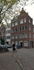 Petit quartier (Novembre 2018) (Ostrevents) Tags: amsterdam paysbas nederlands nederland netherlands hollande holland rue street straat quartier maison home architecture vélo bicyclette bycicle ambiance chn ostrevents