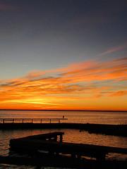 112718am alone (sunlight_hunt) Tags: texasgulfcoast texassunrisesunset texassky matagordabay sunlight sunrisesunset