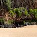 Natural source Secret beach Kauai Hawaii