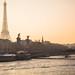 Sunset Seine