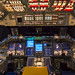 In Orbiter Processing Facility-2 at NASA's Kennedy Space Center in Florida, the flight deck of space shuttle Atlantis is lit one last time as preparations are made for the Space Shuttle Program transition and retirement activities. Original from NASA.
