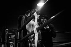 44054 - The match (Diego Rosato) Tags: boxe boxing boxelatina pugilato nikon d700 2470mm tamron rawtherapee bianconero blackwhite ring match incontro