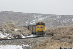 UP 8338 (Utah3002) Tags: up8338 unionpacific up csxt csx trains cwelb911 cwelb9 coaltrain utahtrains railfans utah railroads railways