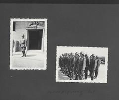 Peter843 Gesamtseite 41, 1930-1950, Vereidigung 1941 (Hans-Michael Tappen) Tags: archivhansmichaeltappen albumb peterhuber 19301950 wwii vereidigung wehrmacht 1941 uniform stahlhelm gruppenfoto säbel lederstiefel soldat soldaten gesamtseite41