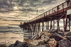 Pier 14-1-17-19 (rod1691) Tags: oceanside california pier beach rocks sky clouds rain surf ocean
