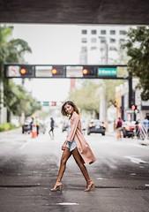 walking across street (y0itzflip) Tags: streetfashion downtown miami brickell portrait