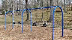 Swings that let you touch the sky (krossbow) Tags: swings maryland prince georges county louisefcosca cosca regional park marylandnational capital and planning commission mncppc playground 操场 columpios площадкадляигр pátioderecreio panasonic lumix tz90 zs70 googlemaps google localguides letsguide local guides