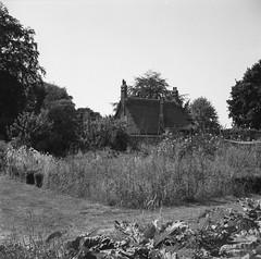 Somerleyton Gardener's House (nikolaijan) Tags: fuji neopan film 120 somerleyton house blackandwhite yashica 124g 6x6 england norfolk iso400