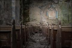 Abandoned Chapel 3 (ducatidave60) Tags: fuji fujifilm fujinonxf23mmf14 fujifilmxpro1 abandoned decay dereliction urbandecay urbex urban