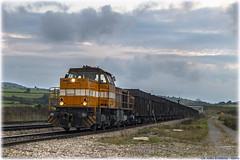 Coque en El Valle (440_502) Tags: mak g1700 comsa rail transport avilés ensidesa el valle poago ptt coque cok aceralia