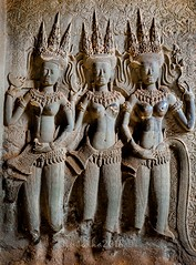 Angkor Wat - Cambodia (Matilda Diamant) Tags: angkor wat cambodia rusalka asian asia religion buddhism architecture khmer empire historical historic history temple complex tourists basrelief apsara