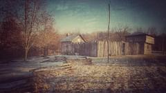 blackhawk's foil...(HSS) (BillsExplorations) Tags: appleriver fort blackhawkwar elizabeth stockade indian war chiefblackhawk indianwar illinois historic reconstruction fence sliderssunday hss snapseed