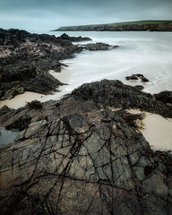 Linear (jellyfire) Tags: beach coast landscape landscapephotography sea seaweed sony sonya7r whistlingsands ze zeissdistagont18mmf35ze autumn clouds granite leeacaster quarry rocks sky snowdonia wales waves wwwleeacastercom zeiss