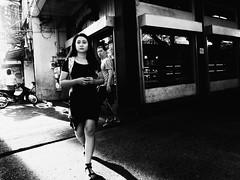 Keep Walking (Meljoe San Diego) Tags: meljoesandiego fuji fujifilm x10 streetphotography light people candid monochrome philippines