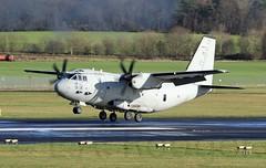 Italian C27J (TF102A) Tags: prestwick prestwickairport aviation aircraft airplane italianairforce c27j spartan