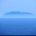 20170706_01 Blue island & ocean seen through mist from Šolta, Croatia
