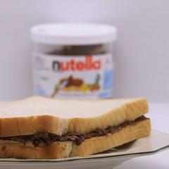 It's World Nutella Day! (stradders06) Tags: sarnie spread chocolate hazelnut worldnutelladay