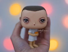 Eleven, don't look at me like this. (_babycatface_) Tags: funko funkopop babycatfacedollies babycatface doll dollphotography toy toyphotography