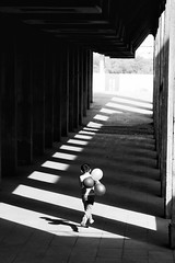 When wings are not an option, balloons will do~ Shanghai (~mimo~) Tags: photography street run balloons boy child blackandwhite light shadow puxi museum long asia china shanghai happyplanet asiafavorites