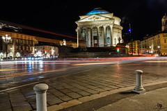 Gran Madre, Torino (_a_l_e_s_s_i_o__c_) Tags: torino turin tonight piemonte piedmont italia italy longexposure lungaesposizione lights luci allaperto architecture architettura city città notte night nikon nikond3300 nightphotography lightpainting scieluminose