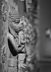 Beautiful Loot (2) (Phancurio) Tags: sculpture blackafrica brass art benin history museum british monochrome london colonialism