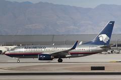AeroMexico (So Cal Metro) Tags: xapam 737 boeing aeromexico las lasvegas mccarranairport mccarran vegas airliner airline aircraft aviation airport jet