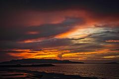 Me gusta cuando llueve...!!! (Nita_Fotos) Tags: sun sundown clouds blue orange sol atardecer nubes naranja cielo mountain montañas reflection reflejos agua backligh contraluz people gente lecheria venezuela tuniñasalvajedelaselva